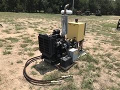 Isuzu Powered Hydraulic Pump For T&L Irrigation Sprinkler