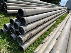 """8"""" Aluminum Gated Irrigation Pipe"""