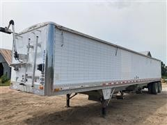 1999 Wilson DWH400 T/A Grain Trailer With Power Traps And Tarp
