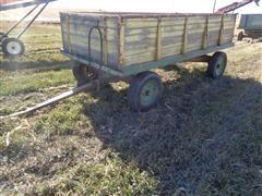"Fimco Big Butch 12' X 66"" Harvest Wagon W/Hoist"