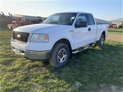 2006 Ford F150 Extended Cab 4x4 Pickup