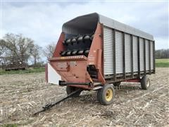 Miller Pro /Knowles 2175/W1000A-8 Forage Wagon With Gear
