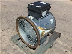 """GSI DF-7-4 24"""" Grain Bin Aeration Fan"""