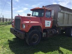 1983 Mack Econodyne RD600K T/A Dump Truck