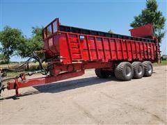 2015 JBS VMWB3448 Narrow Body 50 Ton Manure Spreader