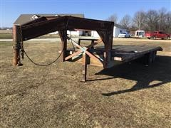 1990 Homemade T/A Gooseneck Trailer