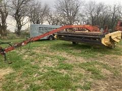 New Holland 1475 Swing Tongue Swather