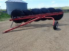 Farmhand 6 Wheel Rake