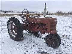 1951 McCormick Farmall H 2WD Tractor (Inoperable)