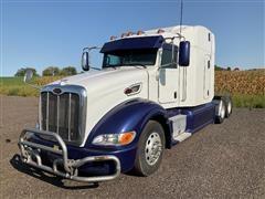2012 Peterbilt 386 T/A Truck Tractor W/Sleeper