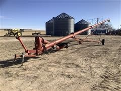 """Feterl 10"""" X 65' Auger W/Swing-Out Load Auger"""