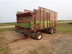 Balzer Tri/A Front Unload Forage Wagon