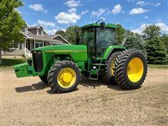 1995 John Deere 8200 MFWD Tractor