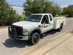 2008 Ford F450XL Super Duty 4x4 Service/Utility Truck