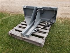 Hawz Tree Puller Skid Steer Attachment