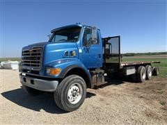 2002 Sterling T/A Flatbed Truck