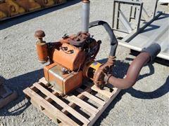 Wisconsin Motor W/Berkeley Pump