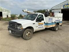 2003 Ford F450 2WD Service Truck