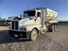 1990 Kenworth T600 T/A Dry Fertilizer Tender Truck