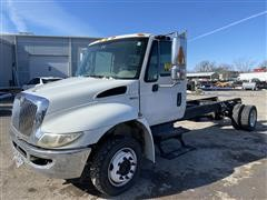 2008 International 4300 S/A Cab & Chassis (INOPERABLE)