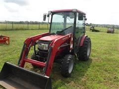 2010 Mahindra 3616 HST Compact MFWD Tractor W/Mahindra 116 Loader