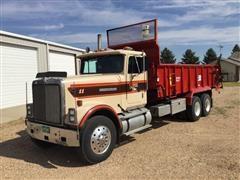1985 International 9370 T/A Manure Spreader Truck