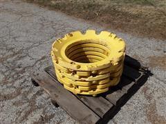 John Deere R111011W Rear Wheel Weighs