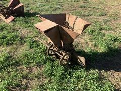 McCormick-Deering Red Box Tailgate Seeder
