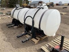 Ace Roto-Mold Saddle Tanks On Agri-Products Mount