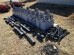 Case IH 1200 Seed Boxes, Vacuum Hoses, & Meters