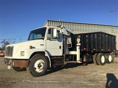 2003 Freightliner FL80 T/A Knuckleboom/Grapple Scrap Handler Truck