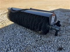 Wolverine 6' Wide Broom Skid Steer Attachment