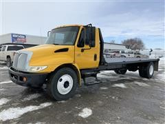 2007 International Durastar 4300 SBA S/A Flatbed Truck
