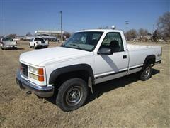 2000 GMC 2500 Sierra 4x4 Pickup W/Long Bed