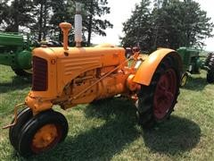 1937 Minneapolis-Moline ZTU 2WD Tractor