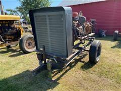 Berkeley B3JRMBM 3x4 Portable Water Pump W/Chevrolet 292 Power Unit On Cart
