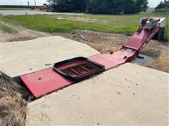 """Hutchinson 24"""" Low Profile Drive Over Elevating Conveyor"""