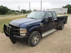 2008 Ford F350XL 4x4 Extended Cab Service Truck
