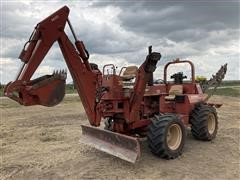 2000 DitchWitch 6510 Diesel Trencher W/backhoe & Blade