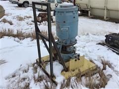 General Electric 5X6256XJ201B Electric Motor & Pump