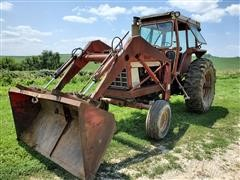1973 International 1066 Tractor And Loader