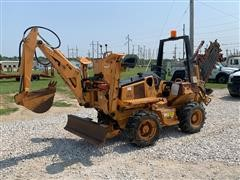 Astec RT560 4x4x4 Trencher W/Backhoe & Backfill Blade