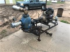 Gorman-Rupp Booster Irrigation Pump