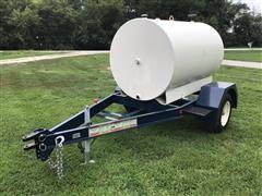 500-Gal Portable Fuel Tank Trailer