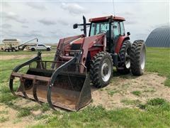 Case IH MXM 190 MFWD Tractor W/Loader