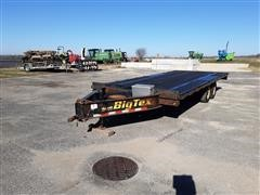 2014 Big Tex 100A - 20 T/A Flatbed Trailer
