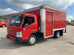 2012 Mitsubishi Fuso Canter FEC92 Tilt-Cab 2WD Box Truck