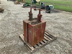 Texaco Fuel Tanks W/Pumps