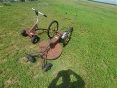 Antique Push Mower & Mower Parts