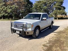 2011 Ford F150 Lariat 4x4 Extended Cab Pickup